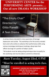 The Empty Chair DRAMA 2017.18