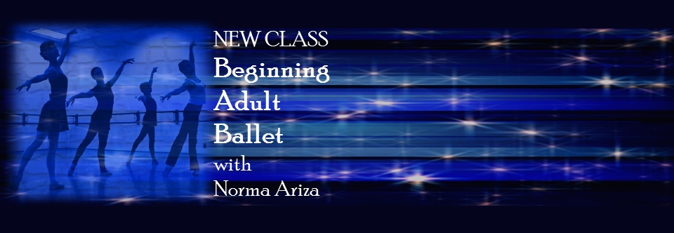 New Adult Beginning Ballet