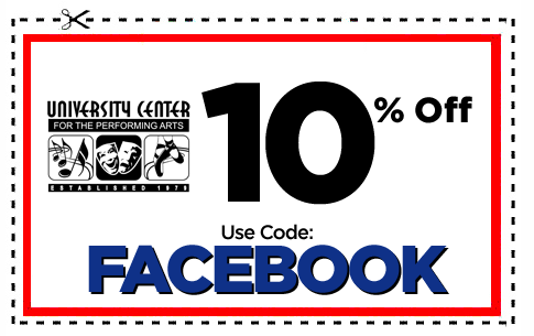 UCPA 10% OFF Fall FACEBOOK COUPON