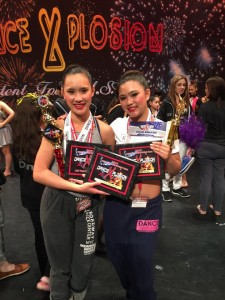 SENIOR DUO 1ST PLACE HIGH SCORE
