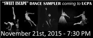 Dance Sampler Fall 2015