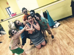 zombies littles camp 2015